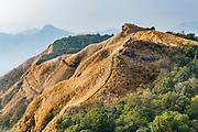 Overlook over the Reiek mountains, Mizoram, India