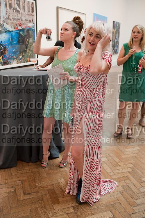 RUTH RIVETT-CARNAC; JAIME WINSTONE;, Royal Academy of Arts Summer Exhibition Preview Party 2011. Royal Academy. Piccadilly. London. 2 June <br /> <br />  , -DO NOT ARCHIVE-© Copyright Photograph by Dafydd Jones. 248 Clapham Rd. London SW9 0PZ. Tel 0207 820 0771. www.dafjones.com.