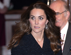 The Duchess of Cambridge attending a special performance of Dear Evan Hansen, at the Noël Coward Theatre, which is being held in aid of The Royal Foundation. Photo credit should read: Doug Peters/EMPICS