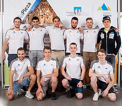Slovenian National Climbing Men team before new season, on June 30, 2020 in Koper / Capodistria, Slovenia. Photo by Vid Ponikvar / Sportida