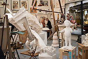 THE FICTIONAL ARTIST STUDIO HAUSER AND WIRTH, Frieze 2016, Regent's Park. London,