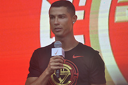July 20, 2018 - Beijin, Beijin, China - Beijing, CHINA-Portuguese professional footballer Cristiano Ronaldo pays a visit in Beijing, China. (Credit Image: © SIPA Asia via ZUMA Wire)