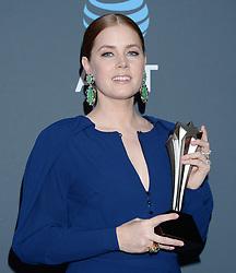 24th Annual Critics Choice Awards - Press Room. 13 Jan 2019 Pictured: Amy Adams. Photo credit: TPI/MEGA TheMegaAgency.com +1 888 505 6342