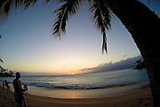 Sunset at Napili Bay Maui