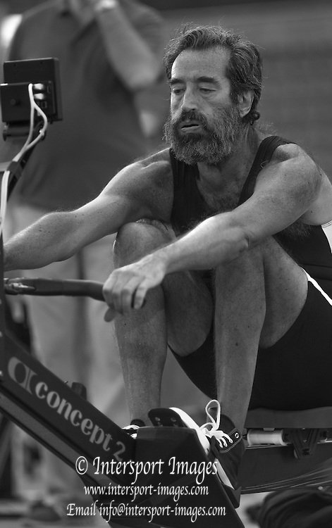 London. United Kingdom.    Masters 55-59. Silvo CASTAGONE. competing for Prosport Trento, at the 2015 British Rowing Indoor Championships.[BRIC].<br /> Lee Valley Velopark. former 2012 Olympic Cycling Velodrome.  Sunday  08/02/2015<br /> <br /> [Mandatory Credit; Peter SPURRIER/Intersport Images]