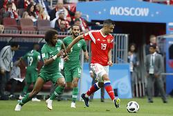 Russia' Alexander Samedov during the 2018 FIFA World Cup Russia opening game, Russia vs Saudi Arabia in Luzhniki Stadium, Moscow, Russia on June 14, 2018.Russia won 5-0. Photo by Henri Szwarc/ABACAPRESS.COM