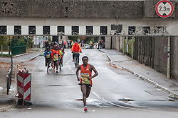 Sciferaw Berhanu of Ethiopia at 17th Ljubljana Marathon 2012 on October 28, 2012 in Ljubljana, Slovenia. (Photo By Matic Klansek Velej / Sportida.com)