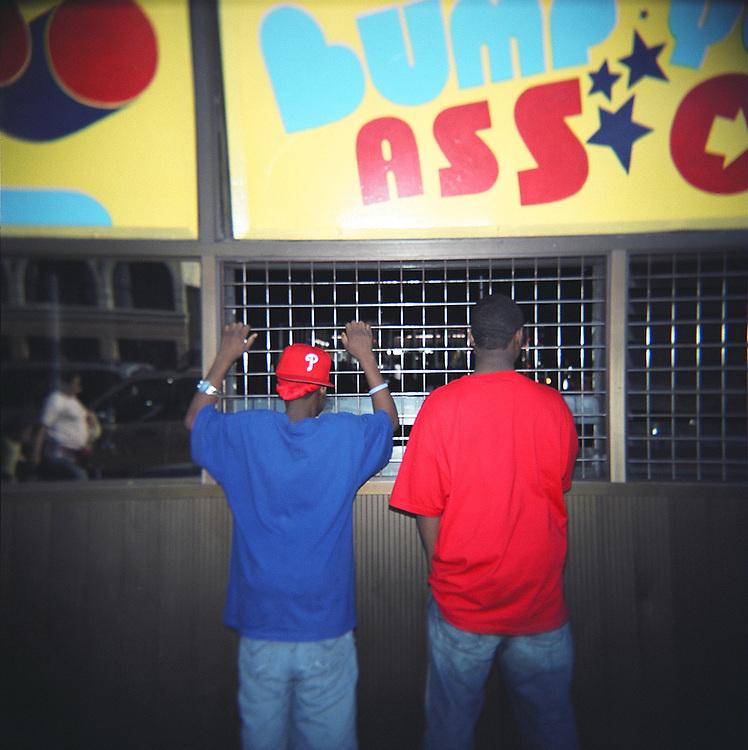 Bumper cars, Coney Island, Brooklyn, 2007