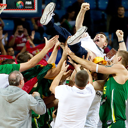20100912: TUR, Basketball - 2010 FIBA World Championship, Third place match, Serbia vs Lithuania