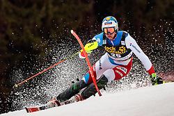 05.03.2017, Podkoren, Kranjska Gora, SLO, FIS Weltcup Ski Alpin, Kranjska Gora, Slalom, Herren, 1. Lauf, im Bild Ramon Zenhaeusern (SUI) // Ramon Zenhaeusern of Switzerland in action during his 1st run of men's Slalom of FIS ski alpine world cup at the Podkoren in Kranjska Gora, Slovenia on 2017/03/05. EXPA Pictures © 2017, PhotoCredit: EXPA/ Johann Groder