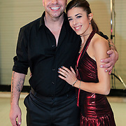 NLD/Utrecht/20121218 - Perspresentatie Sterren Dansen op het IJs 2013, Andy van der Meijden en Schaatspartner Alice