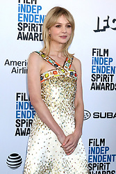 February 23, 2019 - Santa Monica, CA, USA - LOS ANGELES - FEB 23:  Carey Mulligan at the 2019 Film Independent Spirit Awards on the Beach on February 23, 2019 in Santa Monica, CA (Credit Image: © Kay Blake/ZUMA Wire)
