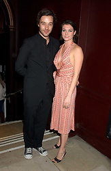 JAMES GOODING and HOLLY DAVIDSON at a launch party for Kraken Opus's new luxury sports books held at Sketch, 9 Conduit Street, London W1 on 22nd February 2006.<br /><br />NON EXCLUSIVE - WORLD RIGHTS