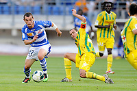 FOOTBALL - FRENCH CHAMPIONSHIP 2010/2011 - L2 - ES TROYES v FC NANTES - 13/08/2010 - PHOTO GUILLAUME RAMON / DPPI - <br /> JULIEN FAUSSURIER (ESTAC)