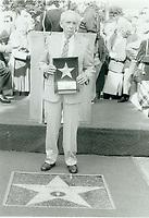 1983 Jim Jordan's Walk of Fame ceremony