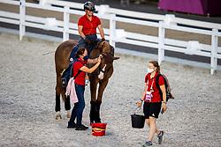 Werth Isabell, GER, Bella Rose 2<br /> Olympic Games Tokyo 2021<br /> © Hippo Foto - Dirk Caremans<br /> 21/07/2021