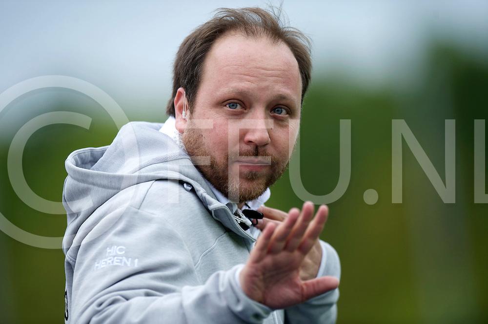 ZEIST - Schaerweijde v HIC.<br /> Hoofdklasse Heren Play Off<br /> Foto: Omar Schlingemann Coach HIC<br /> FFU PRESS AGENCY COPYRIGHT FRANK UIJLENBROEK