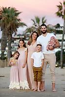 8 November 2017: Ryan, Andrea, Makayla Rylynn, Ryker, Kinsley and baby Kessler family photos at Crystal Cove, CA. ©ShellyCastellano.com