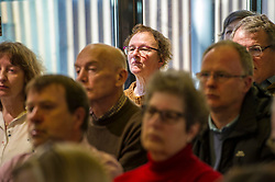 Pictured: <br /> Scottish launch of the campaign for people across the UK to have the final say on Brexit in a 'People's Vote'. Moderated by the incoming chair of the Chair of the European Movement in Scotland, Mark Lazaowicz, speakers included Dr Kirsty Hughes, director of the Scottish Centre on European Relations; Georgie Harris, Vice President Community of the University of Edinburgh Studenst Association and John Edward, former head of the European Parliament Office in Scotland. <br /> <br /> Ger Harley   EEm Date