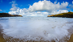 Atlantic breakers smash on to the beach at Cliff, Isle of Lewis, Outer Hebrides, Scotland<br /> <br /> <br /> <br /> (c) Andrew Wilson | Edinburgh Elite media