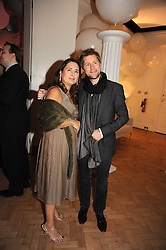 ALEXANDRA SHULMAN and CHRISTOPHER BAILEY at Vogue's Fantastic Fashion Fantasy Party in association with Van Cleef & Arpels to celebrate Vogue's Secret Address Book held at One Marylebone Road, London NW1 on 3rd November 2008.
