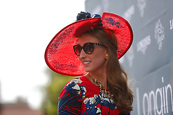 November 3, 2017 - San Diego, CA, USA - Kate Melican looks on during the Breeders' Cup at the Del Mar Thoroughbred Club on Friday, Nov. 3, 2017.  (Photo by K.C. Alfred/The San Diego Union-Tribune (Credit Image: © K.C. Alfred/San Diego Union-Tribune via ZUMA Wire)