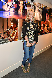 KIM HERSOV at an exclusive showing of the Ralph Lauren Collection Spring 2014 Runway Collection held at the legendary Abbey Road Studios, Abbey Road, London NW8 on 21st May 2014.