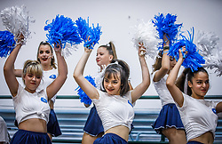 Cheerleaders perform during basketball match between National teams of Greece and Slovenia in the Group Phase C of FIBA U18 European Championship 2019, on July 29, 2019 in  Nea Ionia Hall, Volos, Greece. Photo by Vid Ponikvar / Sportida