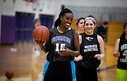 Wendy's High School Heisman finalist Jada Dayne at Waunakee High School, Monday, November 16, 2015.