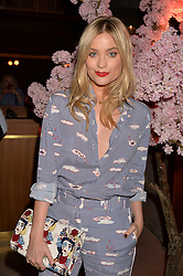 Laura Whitmore at the Warner Music Group and British GQ Summer Party in partnership with Quintessentially held at Nobu Shoreditch, Willow StreetLondon England. 5 July 2017.<br /> Photo by Dominic O'Neill/SilverHub 0203 174 1069 sales@silverhubmedia.com