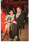 JOE CORRE; SERENA REES, Vivienne Westwood Red Lab show. Tabernacle. Ladbroke Gro.  26 September 1998.  SUPPLIED FOR ONE-TIME USE ONLY> DO NOT ARCHIVE. © Copyright Photograph by Dafydd Jones 248 Clapham Rd.  London SW90PZ Tel 020 7820 0771 www.dafjones.com