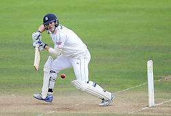 Hampshire's Jimmy Adams in action during his innings.  - Mandatory byline: Alex Davidson/JMP - 07966386802 - 12/09/2015 - CRICKET - The County Ground -Taunton,England - Somerset CCC v Hampshire CCC - Day 4
