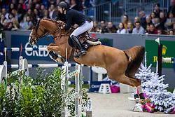 DEVOS Pieter (BEL), Jade v. Bisschop<br /> Genf - CHI Rolex Grand Slam 2018<br /> Credit Suisse Challenge<br /> 08. Dezember 2018<br /> © www.sportfotos-lafrentz.de/Stefan Lafrentz