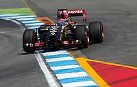 Romain Grosjean (Lotus Renault)<br /> Formel 1, Grosser Preis Santander von Deutschland 2014, Hockenheimring<br /> Norway only<br /> F1