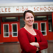 Anna Baldwin teaches high school on a Native American reservation in Arlee, Montana.