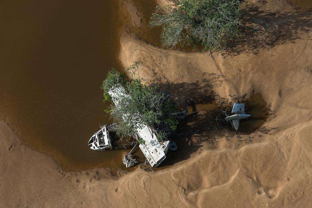Plane crash<br /> Essequibo River<br /> GUYANA<br /> South America<br /> Longest river in Guyana