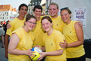 Beachvolleybal Mechelen 2012. Team Mechelen groep.