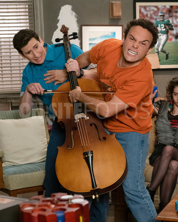 """THE GOLDBERGS - """"The Dating Game"""" – Trying to move on from their breakup, Erica goes on a date with a guy from the coffee shop while Geoff ends up on an episode of """"The Dating Game,"""" which winds up making things even more difficult for them both. Meanwhile, Beverly is thrilled to learn that Murray has spontaneously purchased a shore house until she realizes it's not quite the luxury home she imagined on a new episode of """"The Goldbergs,"""" WEDNESDAY, APRIL 21 (8:00-8:30 p.m. EDT), on ABC. (ABC/Scott Everett White)<br /> TROY GENTILE"""