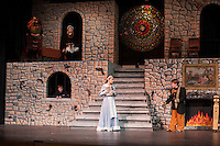 """Gilford Middle School dress rehearsal for """"Beauty and the Beast"""".  Karen Bobotas/for the Laconia Daily Sun"""