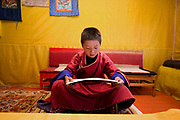 remote Mongolian class room photographed in Hogno Han valley Mongolia