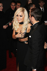 Rita Ora, The British Fashion Awards 2014, The London Coliseum, London UK, 01 December 2014, Photo By Brett D. Cove © Licensed to London News Pictures. 02/12/2014. Brett D Cove/PIQ/LNP