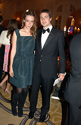 BEN & KATE GOLDSMITH at a dinner in aid of the BAAF (British Association for Adoption & Fostering) held at The Savoy, London on 22nd March 2005.<br /><br />NON EXCLUSIVE - WORLD RIGHTS