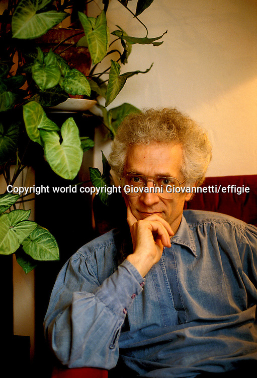 Tzvetan Todorov<br />world copyright Giovanni Giovannetti/effigie / Writer Pictures<br /> <br /> NO ITALY, NO AGENCY SALES / Writer Pictures<br /> <br /> NO ITALY, NO AGENCY SALES