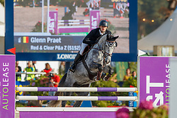Praet Glenn, BEL, Red & Clear P&A Z<br /> FEI WBFSH Jumping World Breeding Championship for young horses Zangersheide Lanaken 2019<br /> © Hippo Foto - Dirk Caremans