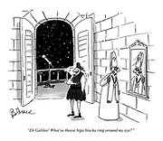 """Eh Galileo! What'sa theese biga blacka ring around my eye?"""