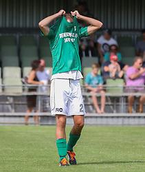 Michael Ø. Poulsen (Avarta) Ærgrer sig efter kampen i 2. Division Øst mellem Boldklubben Avarta og FC Helsingør den 19. august 2012 i Espelunden. (Foto: Claus Birch).