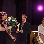 NLD/Amsterdam/20150119 - De Marie Claire Prix de la Mode awards, Claes Iversen wint de award voor Dutch Fashion Creative