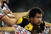 John Schwalger in the maul<br /> Super 14 rugby union match, Waratahs vs Hurricanes, Sydney, Australia. <br /> Saturday 14 May 2010. Photo: Paul Seiser/PHOTOSPORT