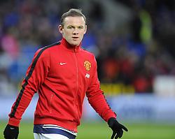 Man Utd Forward Wayne Rooney (ENG) - Photo mandatory by-line: Joseph Meredith/JMP - Tel: Mobile: 07966 386802 - 24/11/2013 - SPORT - FOOTBALL - Cardiff City Stadium - Cardiff City v Manchester United - Barclays Premier League.
