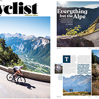 Cyclist Magazine: cover & lead feature 2021.
